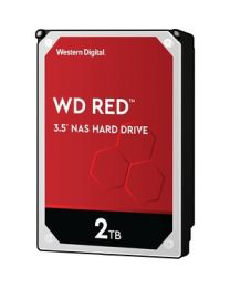 "WD Red WD20EFAX 2 TB Hard Drive - 3.5"" Internal - SATA (SATA/600) - Storage System Device Supported - 5400rpm - 256 MB Buffer - 3 Year Warranty"