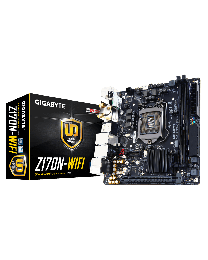 Gigabyte Motherboard Z370N WIFI Intel Z370 LGA1151 DDR4 PCI Express SATA WiFi Mini-ITX Retail