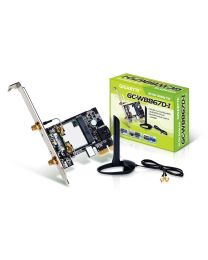 Asus Networking Card PCE-AC55BT B1 AC1200 Dual-Band PCI Express Wi-Fi Adapter with Bluetooth 4.2 Retail