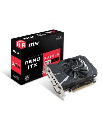 MSI Video Card RX 560 AERO ITX 2G OC Radeon RX560 2GB GDDR5 R560AI2C PCI Express Retail
