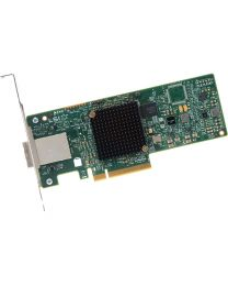 LSI Logic Controller Card H5-25515-00 9300-4i4e Single SAS 4Port 12Gb/s PCI Express HBA Retail