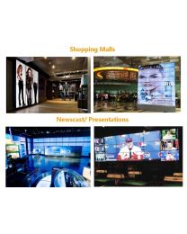 60IN LCD 1366X768 5000:1 VIDEO WALL HIGH BRIGHTNESS