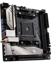 Asus Motherboard ROG STRIX X370-I GAMING AMD AM4 X370 mITX gaming USB Gen2 DDR4 PCIE Retail