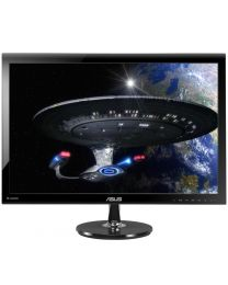 Asus LCD VS278Q-P LED Backlight 27inch Wide 1ms 80000000:1 1920x1080 HDMI/VGA/DVI Black Retail