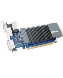 ASUS Video Card GT710-SL-2GD5-CSM GeForce GT 710 2GB GDDR5 64Bit HDMI/VGA/DVI Retail