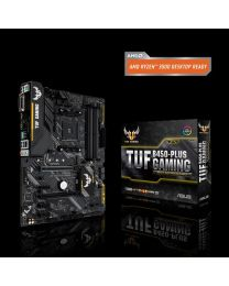 ASUS Motherboard TUF B450-PLUS GAMING AMD AM4 B450 Maximum 64GB DDR4 PCIE Windows 10 ATX Retail