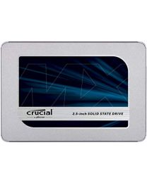 Crucial MX500 2.5-inch 1TB SATA 7mm (with 9.5mm adapter) Internal SSD Retail VPN:CT1000MX500SSD1