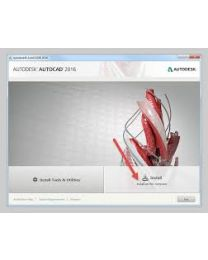 AutoCAD LT 2016 Commercial 1 User Download (Perpetual License)