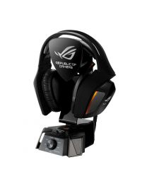 Asus Headphone Speakers ROG Centurion true 7.1 gaming headset with 10 discrete drivers digital microphone Hi-Fi-grade headphone amplifier and USB audio station Retail