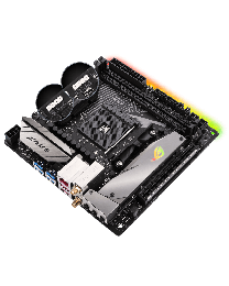 ASUS Motherboard ROG STRIX B350-I GAMING AMD AM4 Max.32G DDR4 SATA PCIE mITX Retail